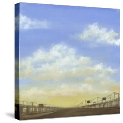 Evening Commute I-Jennifer Goldberger-Stretched Canvas Print