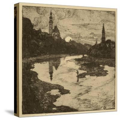 View of Salzburg II--Stretched Canvas Print