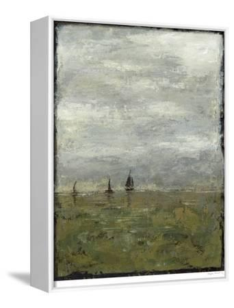 Out to Sea II-Megan Meagher-Framed Stretched Canvas Print