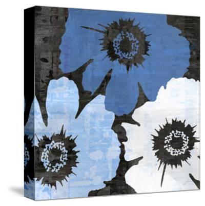 Bloomer Squares XIV-James Burghardt-Stretched Canvas Print