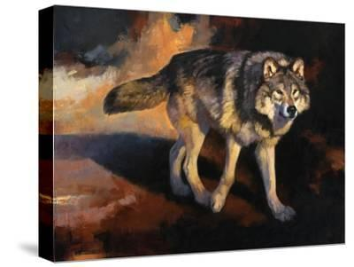 The Wolf Road-Julie Chapman-Stretched Canvas Print