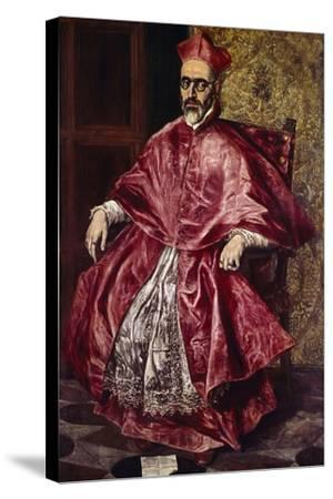 Cardinal Fernando Nino De Guevara, Ca.1601-El Greco-Stretched Canvas Print