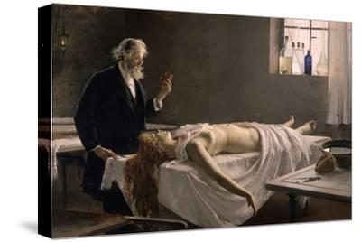 And She Had a Heart!, 1890-Enrique Simonet Y Lombardo-Stretched Canvas Print