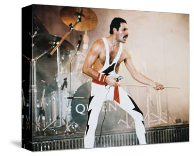 Freddie Mercury - Queen--Stretched Canvas Print
