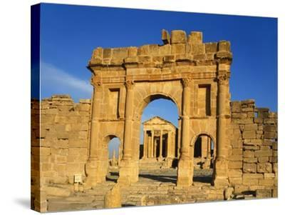 Sbeitla, Tunisia, Africa-Charles Bowman-Stretched Canvas Print
