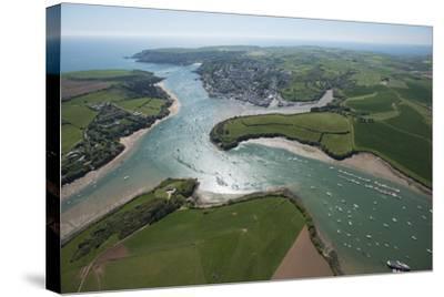 Salcombe, Devon, England, United Kingdom, Europe-Dan Burton-Stretched Canvas Print