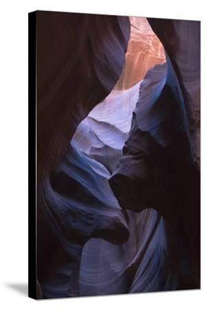 Eroded Curves in Sandstone-Jean Brooks-Stretched Canvas Print