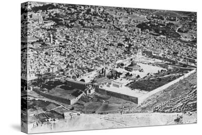 Jerusalem--Stretched Canvas Print