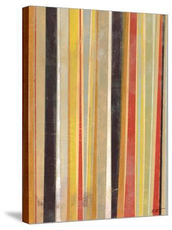 Jubilant Stripes II-Norman Wyatt Jr^-Stretched Canvas Print