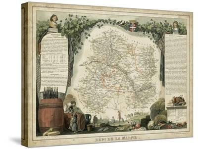 Atlas Nationale Illustre IV-Victor Levasseur-Stretched Canvas Print