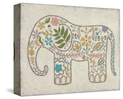 Laurel's Elephant II-Chariklia Zarris-Stretched Canvas Print