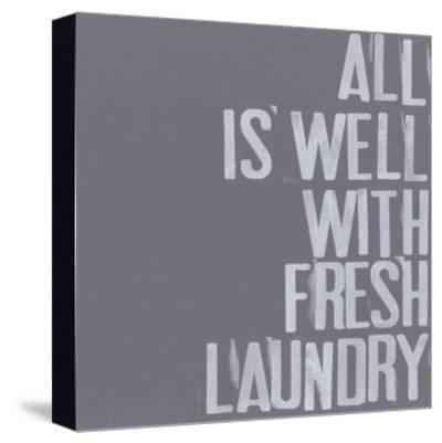 Fresh Laundry I-Deborah Velasquez-Stretched Canvas Print
