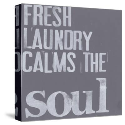 Fresh Laundry II-Deborah Velasquez-Stretched Canvas Print