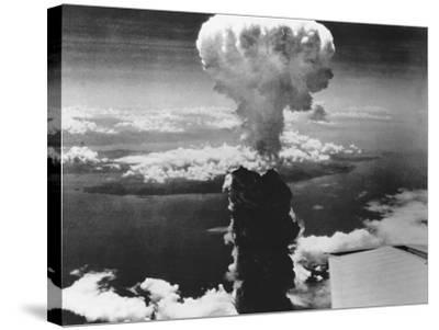 A-Bomb Damage to Nagasaki--Stretched Canvas Print