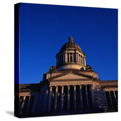 Washington State Capitol Building-Paul Souders-Stretched Canvas Print
