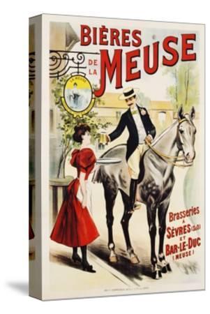 Bieres De La Meuse Poster--Stretched Canvas Print