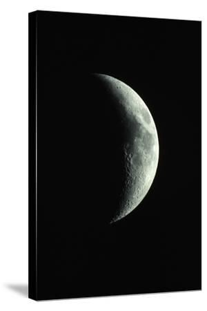 Crescent Moon-Roger Ressmeyer-Stretched Canvas Print