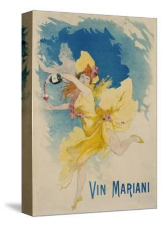 Vin Mariani Poster-Jules Ch?ret-Stretched Canvas Print