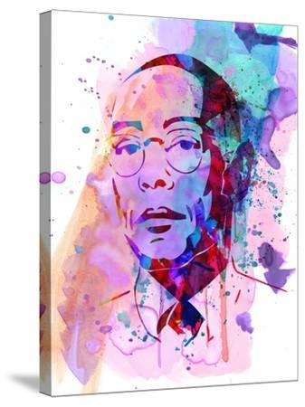 Gustavo Watercolor-Anna Malkin-Stretched Canvas Print