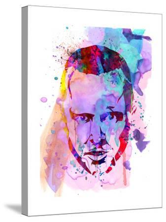 Jesse Watercolor-Anna Malkin-Stretched Canvas Print