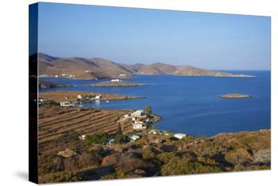 Kythnos, Cyclades, Greek Islands, Greece, Europe-Tuul-Stretched Canvas Print