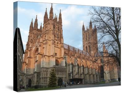 Canterbury Cathedral-Charlie Harding-Stretched Canvas Print
