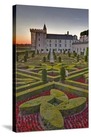 The Chateau of Villandry at Sunset-Julian Elliott-Stretched Canvas Print