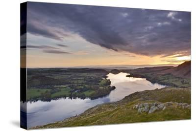 Ullswater in the Lake District National Park, Cumbria, England, United Kingdom, Europe-Julian Elliott-Stretched Canvas Print