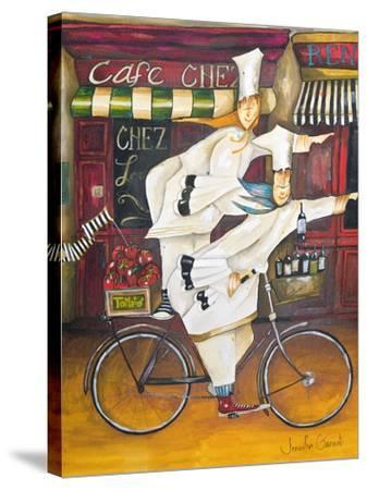 Chefs on the Go-Jennifer Garant-Stretched Canvas Print