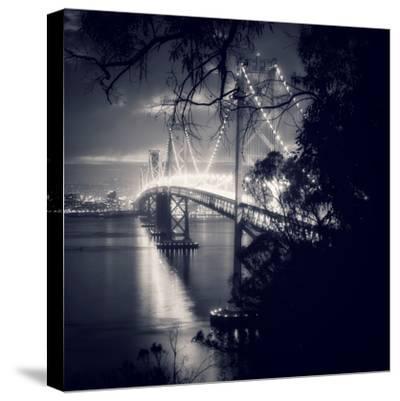 Bay Bridge, All Dressed Up, San Francisco-Vincent James-Stretched Canvas Print