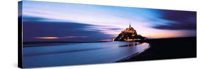 Mont Saint Michel France--Stretched Canvas Print