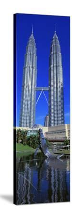 Petronas Towers Kuala Lumpur Malaysia--Stretched Canvas Print
