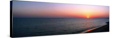 Seascape the Algarve Portugal--Stretched Canvas Print