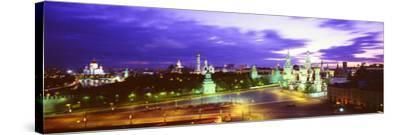 Russia, Moscow, Red Square--Stretched Canvas Print