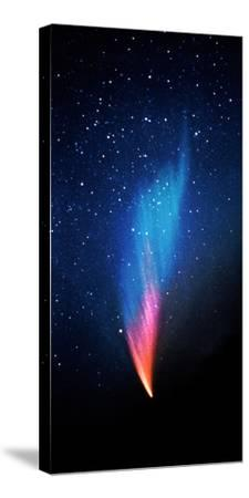 Comet (Photo Illustration)--Stretched Canvas Print