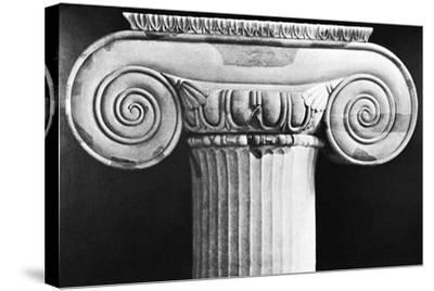Column Capital from Temple of Artemis at Ephesus--Stretched Canvas Print