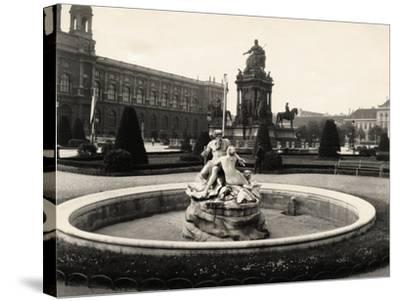 Statue of Empress Maria Theresia--Stretched Canvas Print