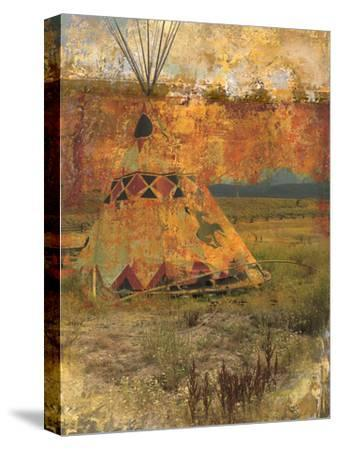 Teepee 1-Sokol-Hohne-Stretched Canvas Print