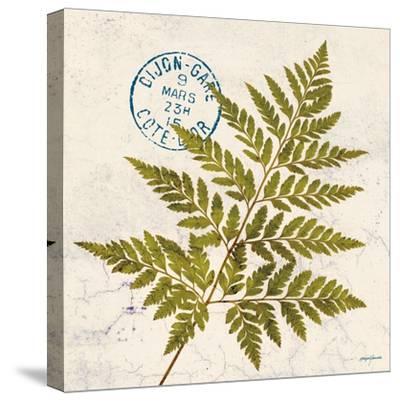 Jade Forest Leaf 1-Morgan Yamada-Stretched Canvas Print