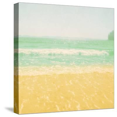 Sand in my Toes-Roberta Murray-Stretched Canvas Print
