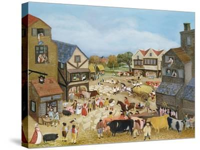 Market Day-Margaret Loxton-Stretched Canvas Print