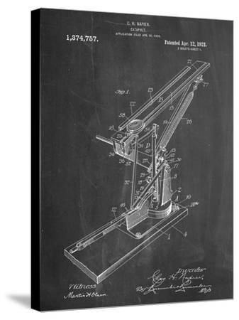 Catapult Patent 1921--Stretched Canvas Print