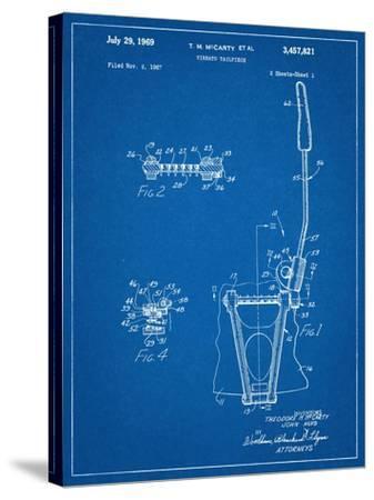 Guitar Vibrato, Wammy Bar Patent--Stretched Canvas Print