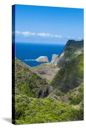 The Rugged West Maui Landscape and Coastline, Maui, Hawaii, United States of America, Pacific-Michael Runkel-Stretched Canvas Print