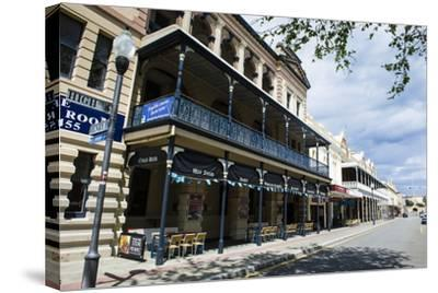 Colonial Buildings in Downtown Fremantle, Western Australia, Australia, Pacific-Michael Runkel-Stretched Canvas Print