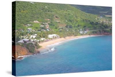 View of Carlisle Bay, Antigua, Leeward Islands, West Indies, Caribbean, Central America-Frank Fell-Stretched Canvas Print