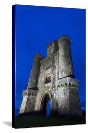 Paxtons Tower, Llanarthne, Carmarthenshire, Wales, United Kingdom, Europe-Billy Stock-Stretched Canvas Print