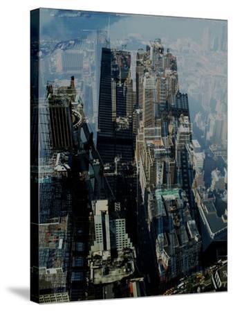 Metropolis VII-David Studwell-Stretched Canvas Print
