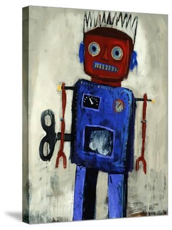 Iron Man-Clayton Rabo-Stretched Canvas Print