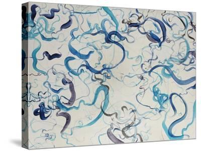 Custom Scribble-Kari Taylor-Stretched Canvas Print